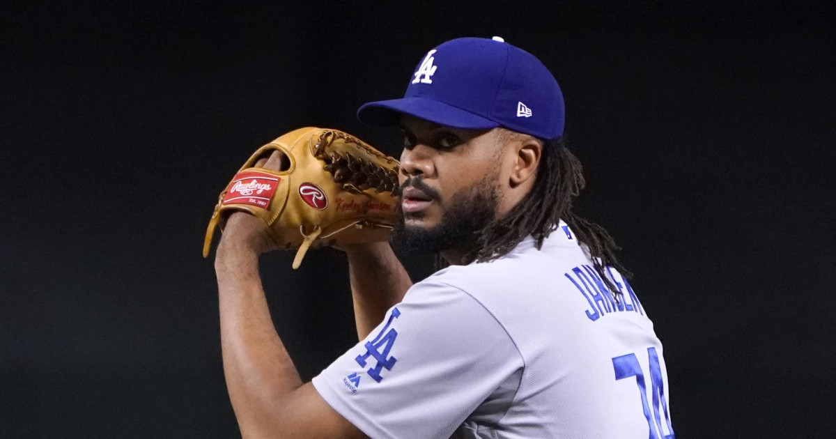 Dodgers reliever Kenley Jansen feeling better after positive coronavirus test