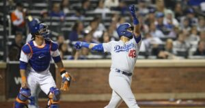 Hard-hitting Edwin Rios pushing to make the Dodgers' opening day roster