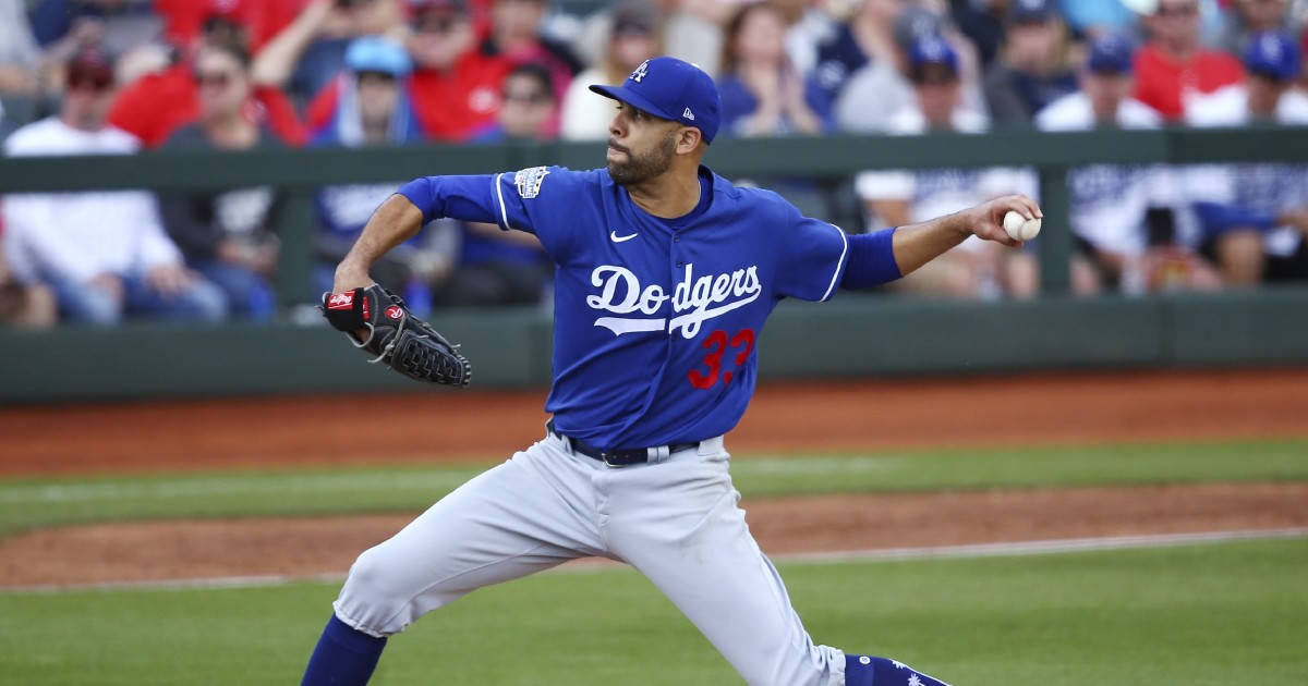 Dodgers' David Price opts out of playing this season due to coronavirus concerns