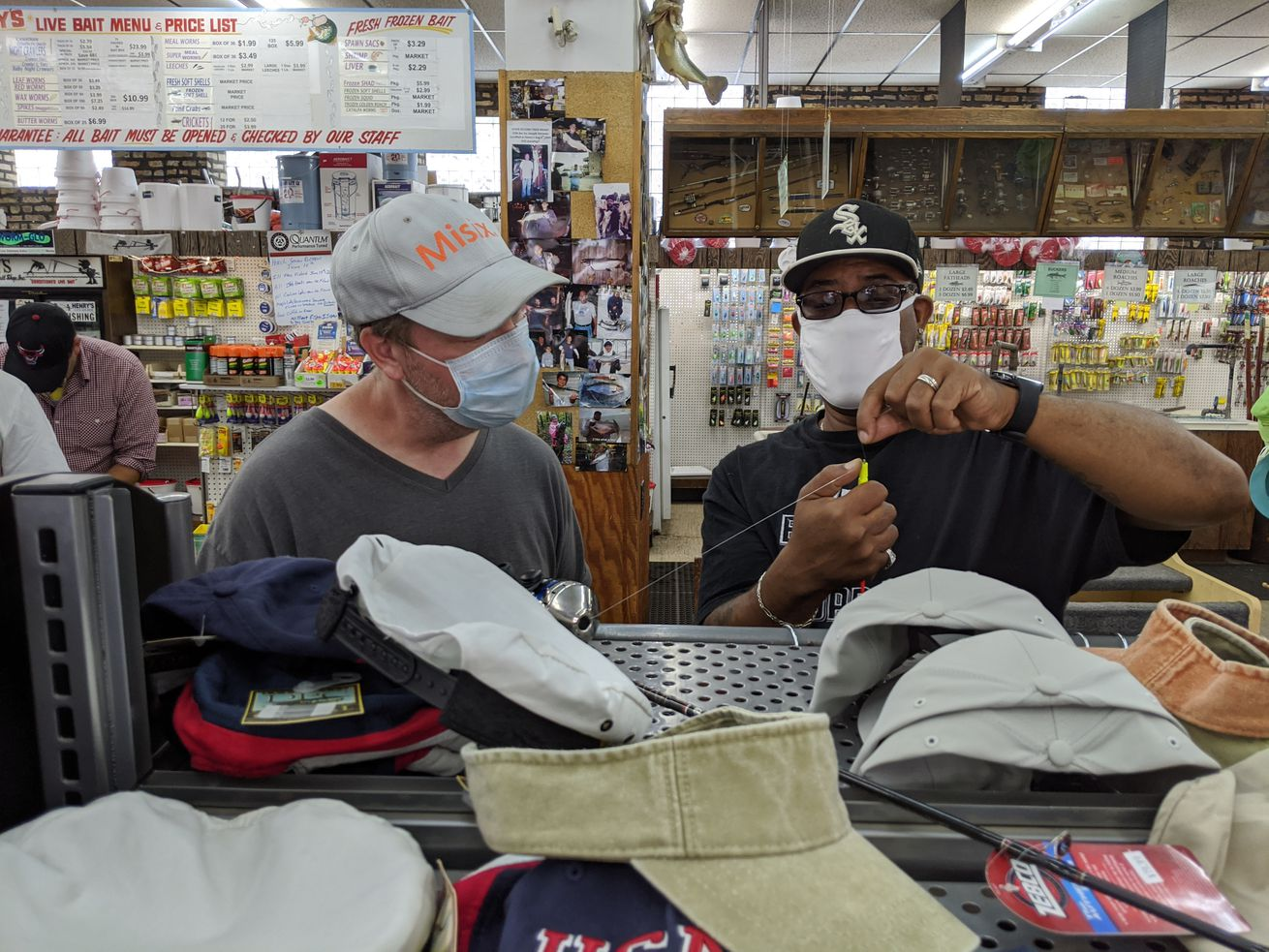 Illinois' fishing license sales: Up more than 60,000 as a morning at Henry's Sports and Bait backs up