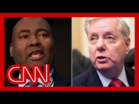 Lindsey Graham ad shows image of opponent with altered skin tone