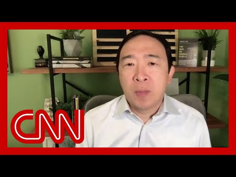 Andrew Yang reacts to President Trump's tweet about election delay