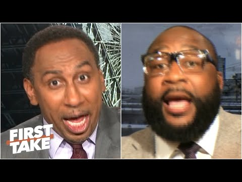 Stephen A. & Marcus Spears get heated debating Lamar Jackson vs. Aaron Rodgers   First Take