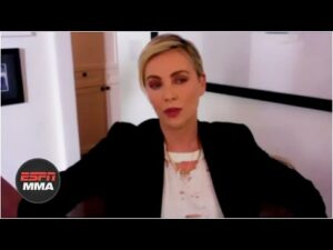 Charlize Theron describes how she fell in love with the UFC | ESPN MMA