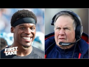 Why the NFL should be worried about the Cam Newton-Bill Belichick duo | First Take