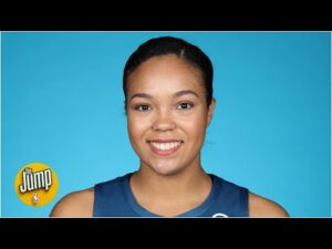 Lynx's Napheesa Collier on life in the bubble & playing in China during the pandemic | The Jump