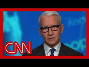 'Just ludicrous.' Anderson Cooper slams Trump's Covid-19 comments