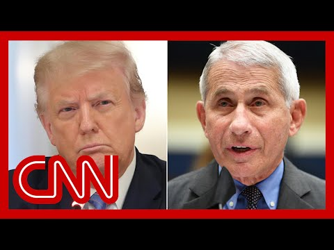 Trump tries to distance himself from adviser's Fauci attack