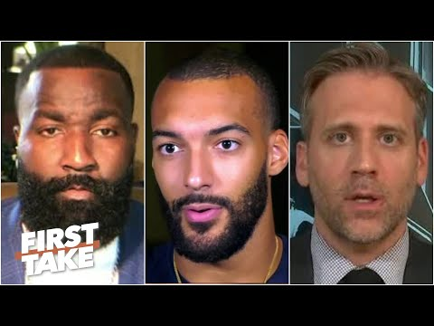 First Take reacts to Rudy Gobert discussing his coronavirus diagnosis