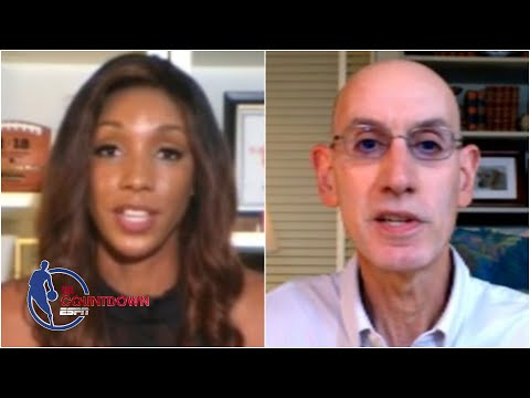 Adam Silver on how the NBA is balancing the restart & social justice issues | NBA Countdown