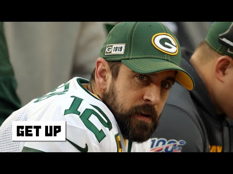 Reacting to Aaron Rodgers opening up about the Packers drafting a QB   Get Up