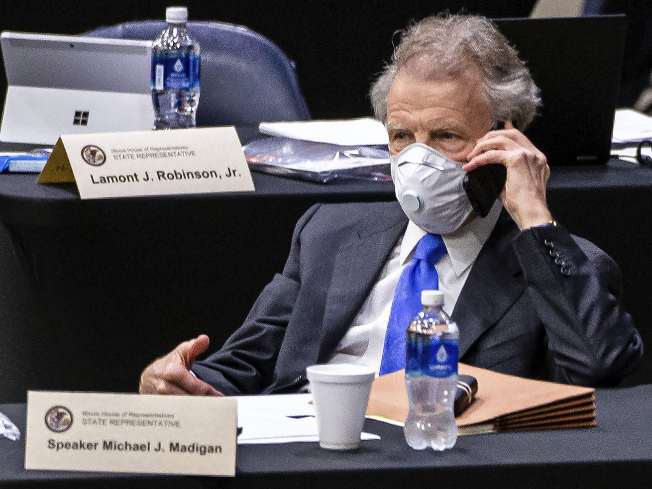 Michael Madigan's future is on the brink even without him being charged