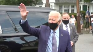 Biden refuses to take questions from media during visit to old home in Scranton