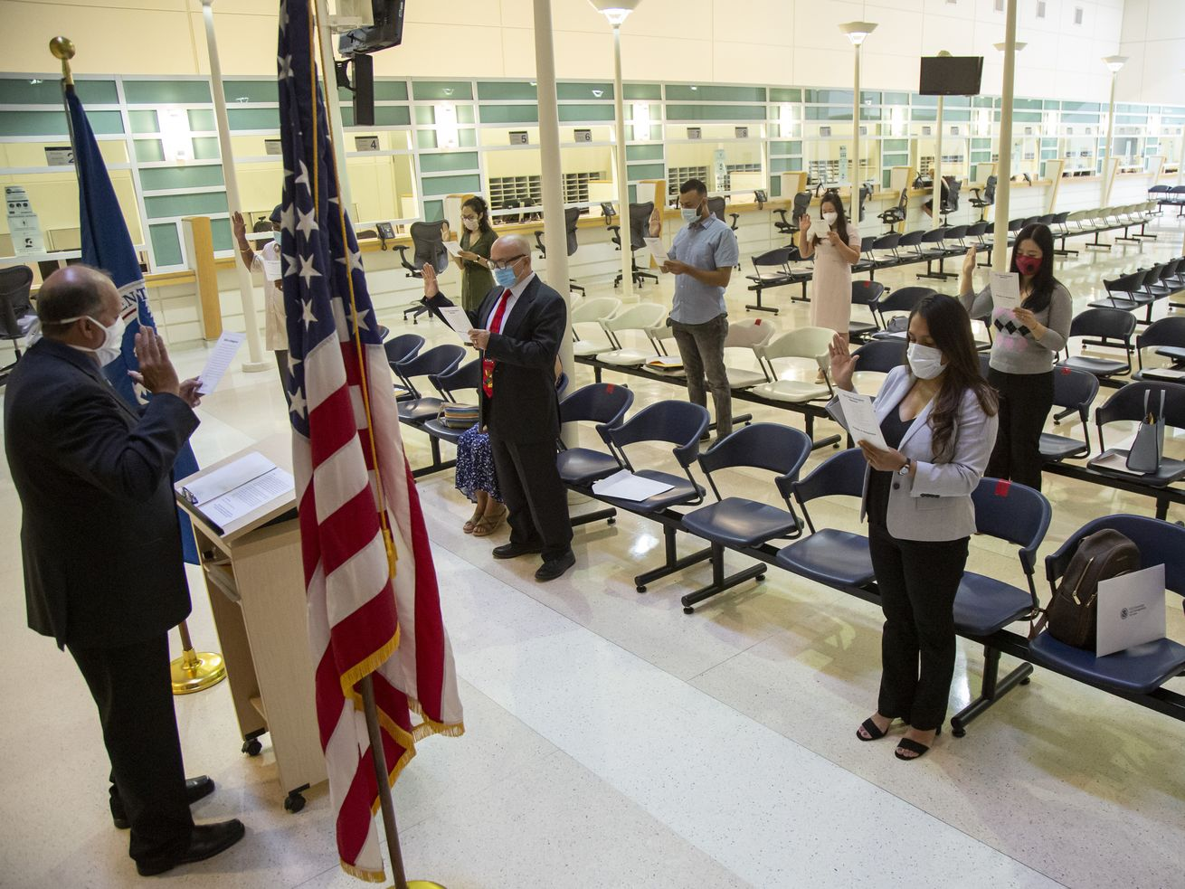 Naturalization backlog could keep many immigrants from voting in November