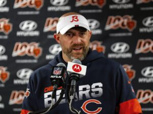 A room Zoom Zoom: Will Matt Nagy's virtual offseason give Bears an edge?