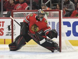 Corey Crawford 'unfit to play' as Blackhawks announce playoffs roster, begin training camp