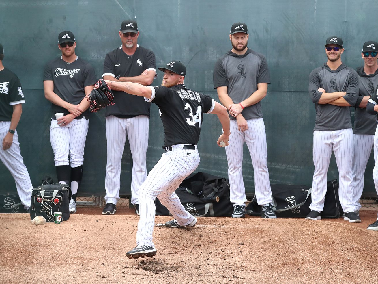 White Sox teammates support for Michael Kopech remains strong