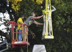 Confederate statue removed from prominent spot at Ole Miss