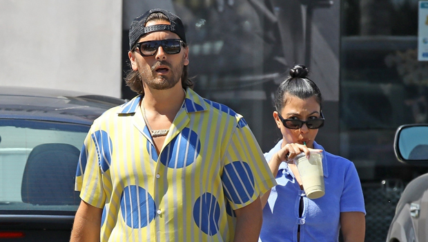 Kourtney Kardashian Jokes She Has A 'Husband' While Vacationing With Scott Disick & Fans Are Confused
