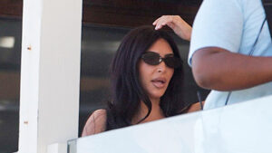 Kim Kardashian Looks Stressed Shooting 'KUWTK' With Malika Haqq After Kanye's Abortion Comments