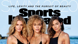 Olivia Culpo Rocks A Sexy One-Piece Alongside Bikini-Clad Jasmine Sanders & Kate Bock For 'SI Swimsuit'