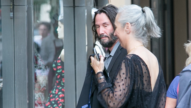 Keanu Reeves & GF Alexandra Grant Dress To The Nines For Romantic Date Night In Berlin