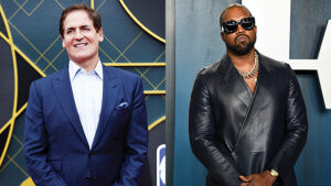 Mark Cuban Reveals He'd Vote For Kanye West Over Trump & His Fans Clap Back: 'You're Killing Me'
