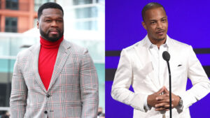 50 Cent Claps Back At T.I. After Rapper Challenges Him To 'Verzuz' Battle: Somebody Passed Him Weed