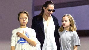 Happy 12th Birthday, Knox & Vivienne Jolie-Pitt: Pics Of Angelina & Brad's Twins Then & Now