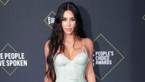 Kim Kardashian & More Celebs Making Snakeskin Look Sexy With Plunging Dresses & More