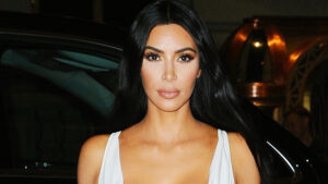 Kim Kardashian Stuns In Tiny White Tank Top With Laced Up Heels For Her Sexiest Pic Yet