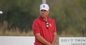 USC men's golf coach Chris Zambri agrees to part ways with the university