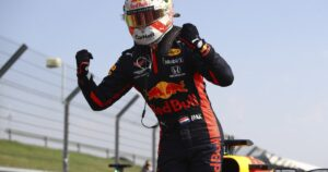 F1 racing: Max Verstappen storms to unlikely victory over Mercedes duo