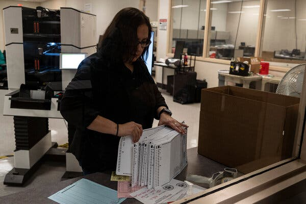 Postal Crisis Has States Looking for Alternatives to Mail-In Ballots