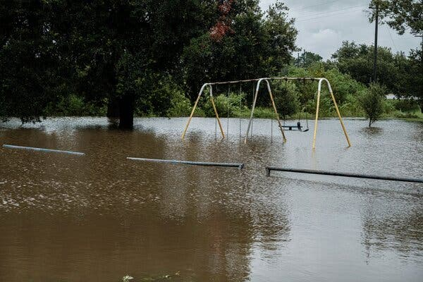 In One Louisiana City, a Police Shooting, a Pandemic and a Hurricane