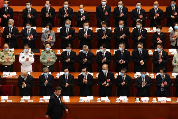 She Was a Communist Party Insider in China. Then She Denounced Xi.