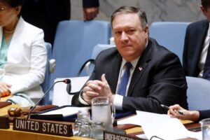 China confirms they will vote against extending Iran Nuclear arms embargo, effectively ending Pompeo's efforts