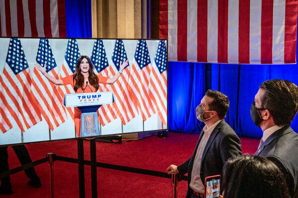 After Republicans' Promises of Uplift, a Night More Polarizing Than Positive