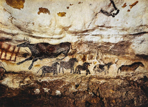 New York's Sidewalk Prophets Are Heirs of the Lascaux Cave Artisans