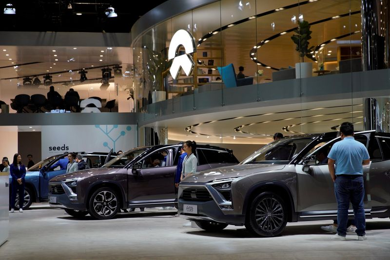 China's EV maker Nio launches battery leasing service