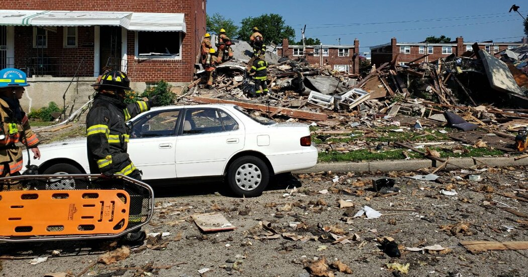 1 Dead and at Least 2 Injured in Baltimore Gas Explosion