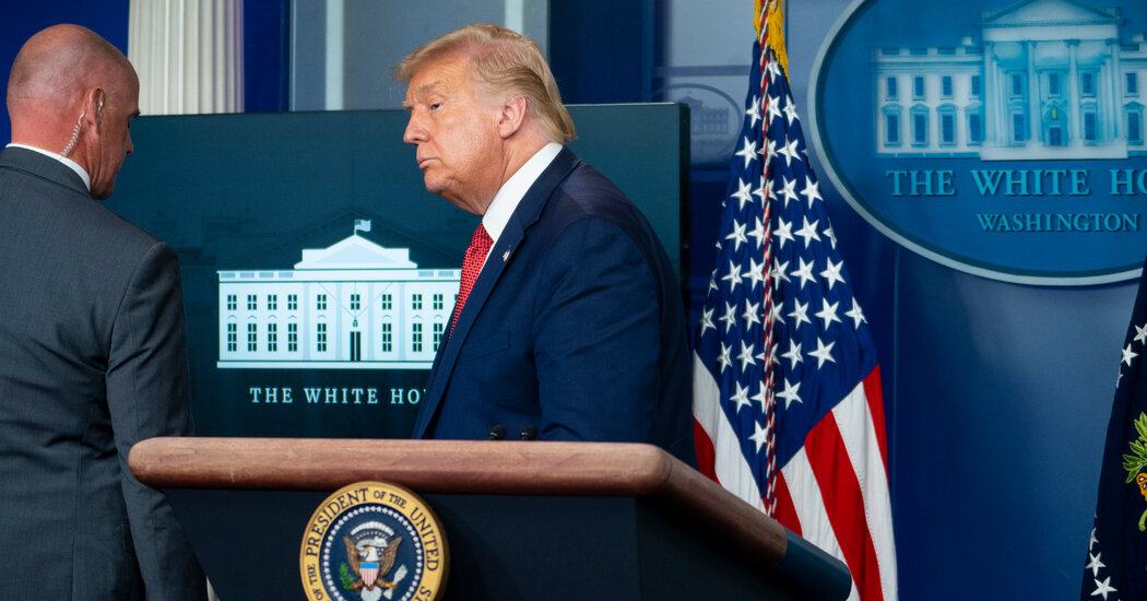 Trump Led From Briefing Room After Shooting Outside White House