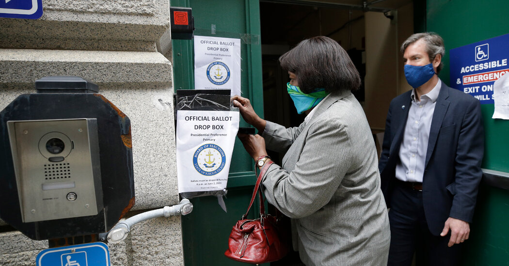 Supreme Court Lets Rhode Island Make Voting by Mail Easier Amid Pandemic