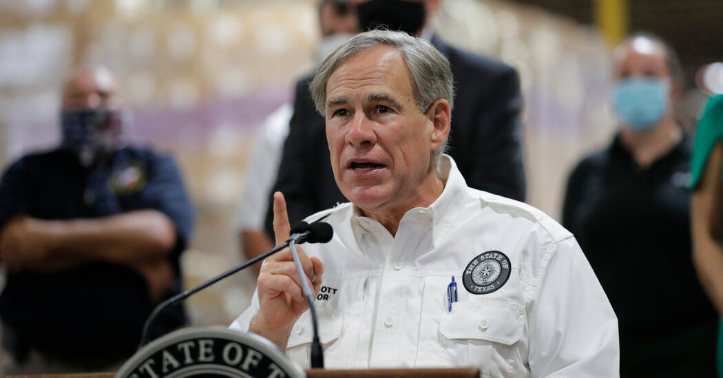 Texas Governor Proposes Freezing Taxes in Cities That 'Defund' Police