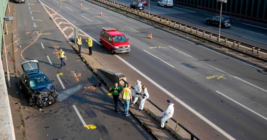 Berlin Autobahn Crashes Are Deemed a Possible Terrorist Attack