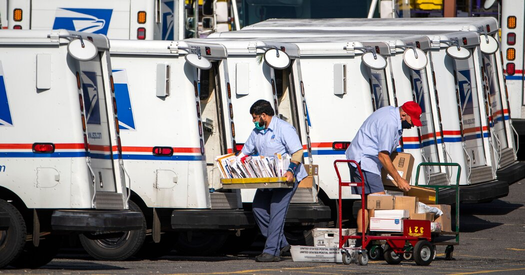 House Moves Toward Vote to Block Postal Changes