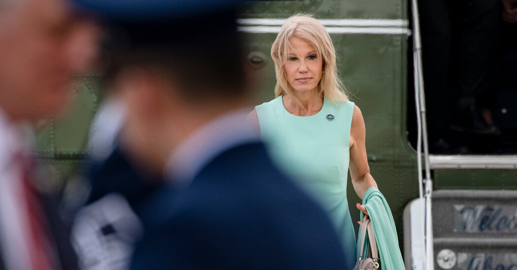 Kellyanne Conway, Long-Serving Trump Aide, Is Leaving the White House