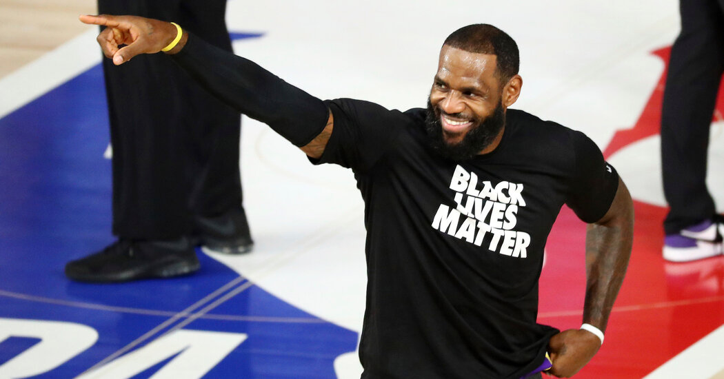 LeBron James and a Multimillion-Dollar Push for More Poll Workers
