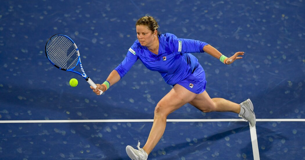 Kim Clijsters Is Back. Again.