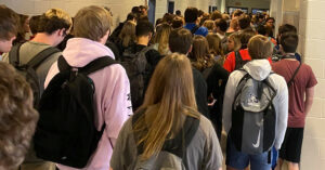 'The Photo Does Not Look Good': Georgia School's Crowded Halls Go Viral